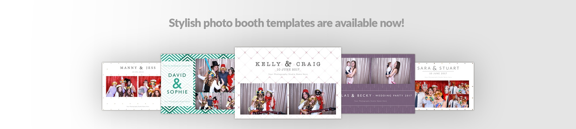 Photo booth for sale click this banner to go to our templates page
