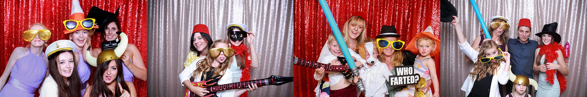 best portable photo booth series of pictures taken by The Photopod