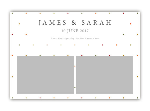 Diamond Photo Booth Template 6x4 Style