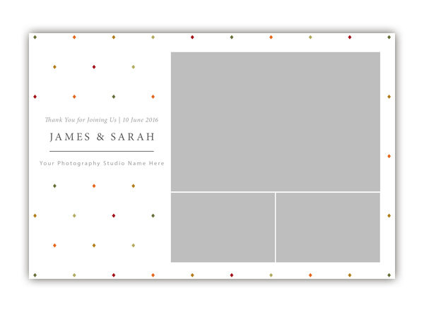 Diamond Photo Booth Template 6x4 Style 2