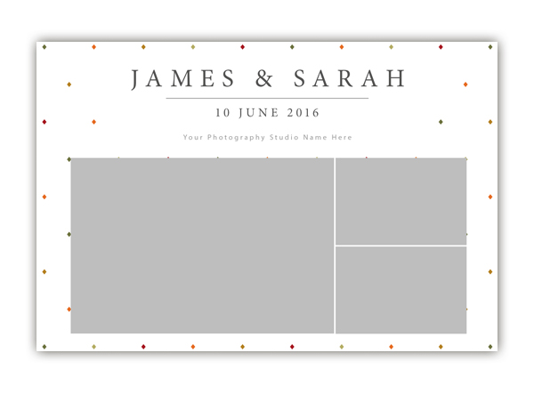Diamond Photo Booth Template 6x4 Style 3 - The Photopod Company