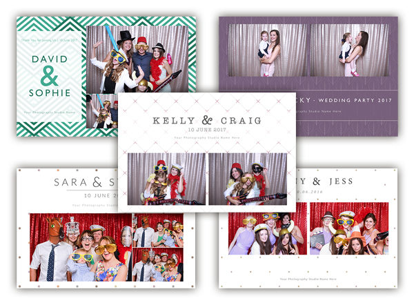 photo booth template designs